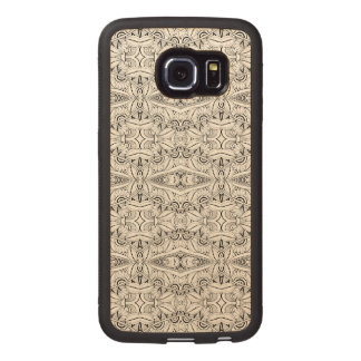 Inspired Tribal Design Wood Phone Case