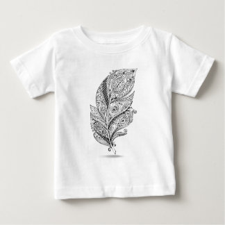 Inspired Tribal Feather Baby T-Shirt