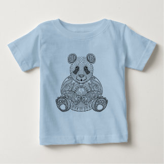 Inspired Tribal Panda Baby T-Shirt