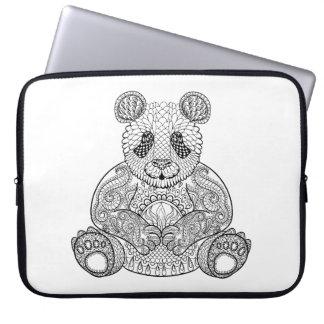 Inspired Tribal Panda Laptop Sleeve