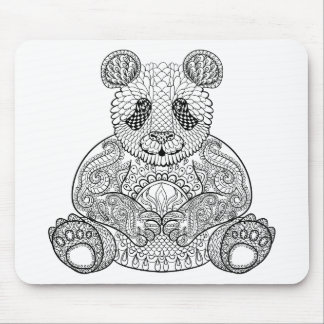Inspired Tribal Panda Mouse Mat