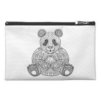 Inspired Tribal Panda Travel Accessory Bag
