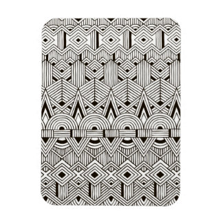 Inspired Tribal Pattern Magnet