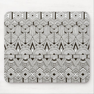 Inspired Tribal Pattern Mouse Mat