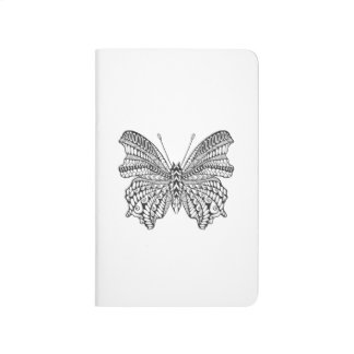 Inspired Tropical Butterfly Journal