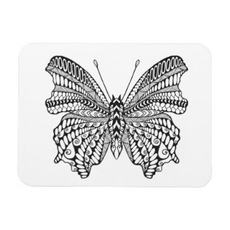 Inspired Tropical Butterfly Magnet