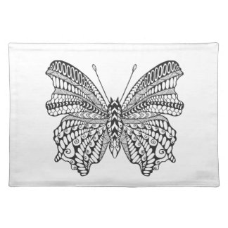 Inspired Tropical Butterfly Placemat