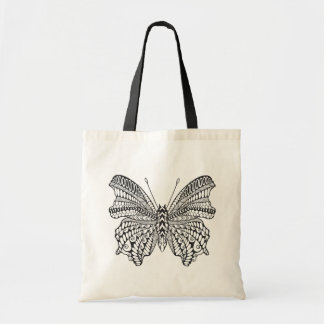 Inspired Tropical Butterfly Tote Bag
