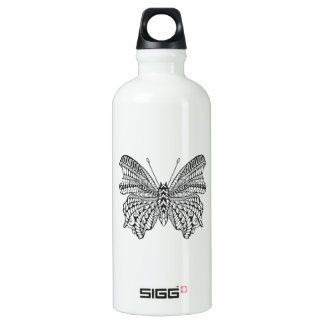 Inspired Tropical Butterfly Water Bottle