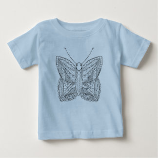 Inspired Tropical Design Butterfly Baby T-Shirt