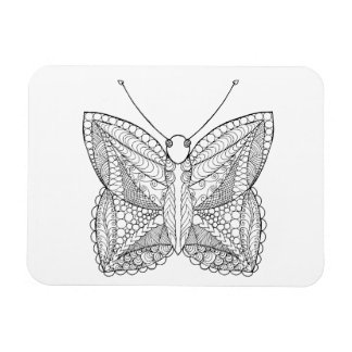 Inspired Tropical Design Butterfly Magnet
