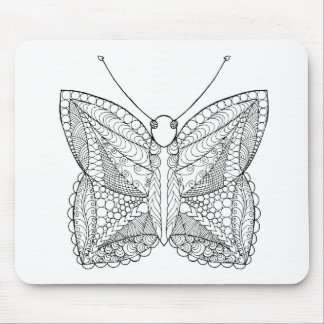 Inspired Tropical Design Butterfly Mouse Mat