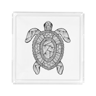 Inspired Turtle Acrylic Tray