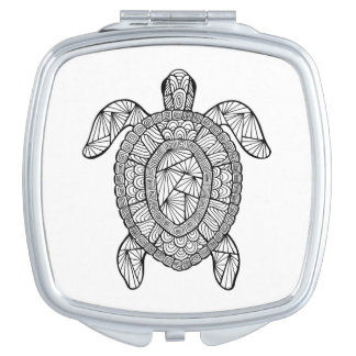 Inspired Turtle Mirrors For Makeup