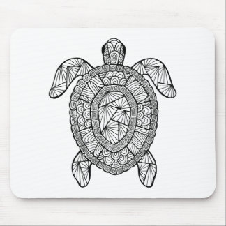 Inspired Turtle Mouse Mat