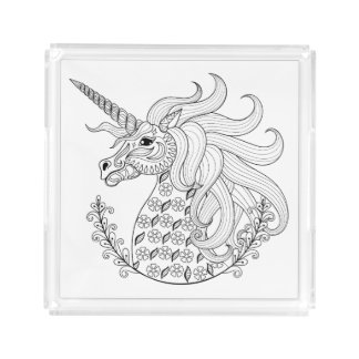 Inspired Unicorn Acrylic Tray