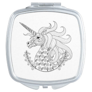 Inspired Unicorn Compact Mirrors