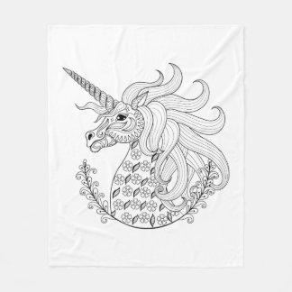Inspired Unicorn Fleece Blanket