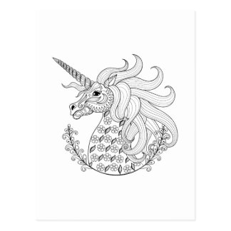 Inspired Unicorn Postcard