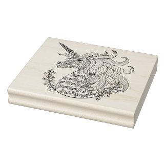 Inspired Unicorn Rubber Stamp