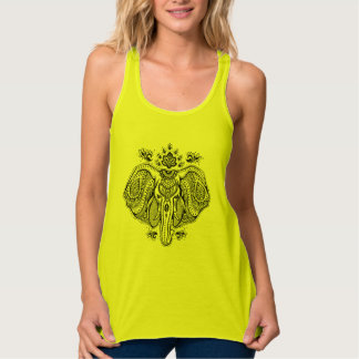 Inspired Vintage Indian Elephant Tank Top