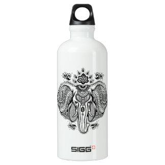 Inspired Vintage Indian Elephant Water Bottle