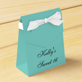 Inspired White Bow Sweet 16 Favor Candy Box Party Favour Boxes