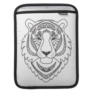 Inspired White Tiger iPad Sleeve