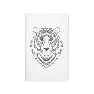 Inspired White Tiger Journal