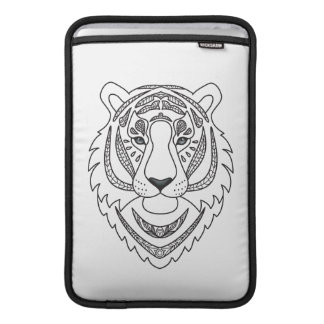 Inspired White Tiger MacBook Air Sleeve
