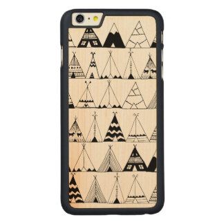Inspired Wigwam Carved® Maple iPhone 6 Plus Case