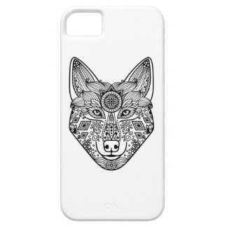 Inspired Wolf Head iPhone 5 Covers