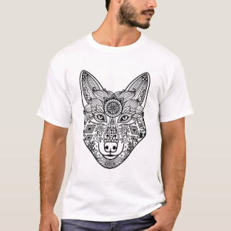 Inspired Wolf Head T-Shirt