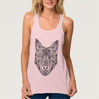 Inspired Wolf Head Tank Top