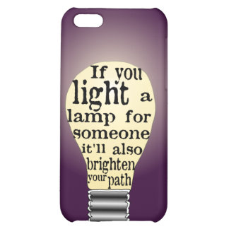 Inspiring Care Giving Quote iPhone 5C Case