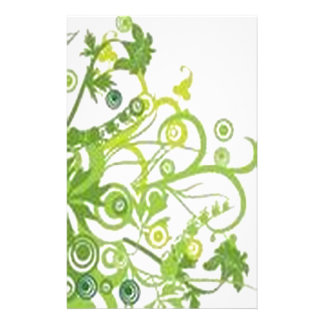 Inspiring Floral Design Stationery Paper