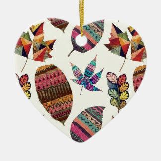 Inspiring Flowers Ceramic Heart Decoration