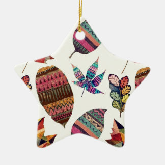 Inspiring Flowers Ceramic Star Decoration