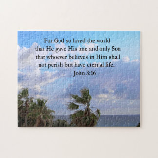 INSPIRING JOHN 3:16 PHOTO PUZZLES