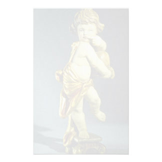 Inspiring Marble sculpture of a kid Personalized Stationery