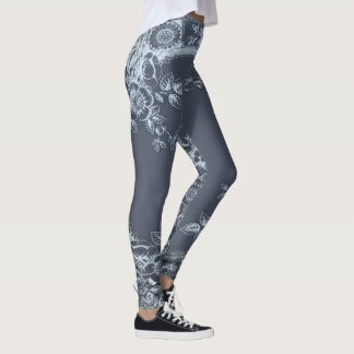 Inspirit Blue Leggings