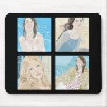 Instagram 4 Photo Personalised Mousepad Designs