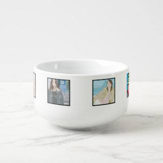 Instagram 6-Photo Personalized Custom Soup Mug