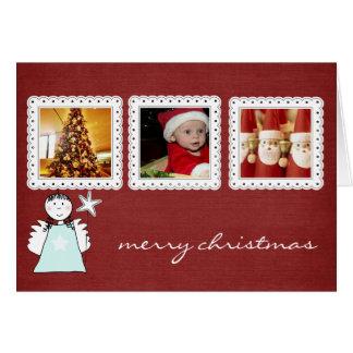 instagram christmas photo card