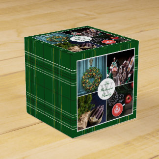 Instagram Hygge Christmas Personalized Photo Grid Favour Box
