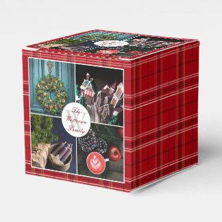 Instagram Hygge Christmas Seasonal Photo Collage Favour Boxes