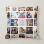 Instagram Modern Stylised Your Photos Cushion