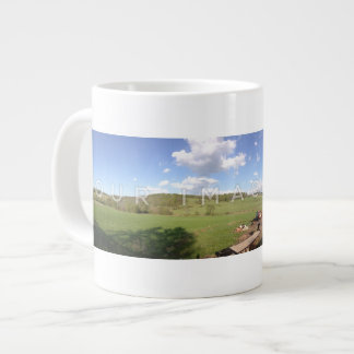 Instagram Panoramic Photo Custom Jumbo Mug