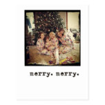 instagram photo christmas cards postcards