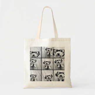 Instagram Photo Collage with 9 photos Budget Tote Bag